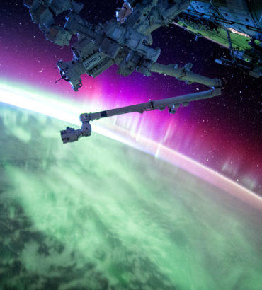 Epic Aurora Borealis Images from NASA